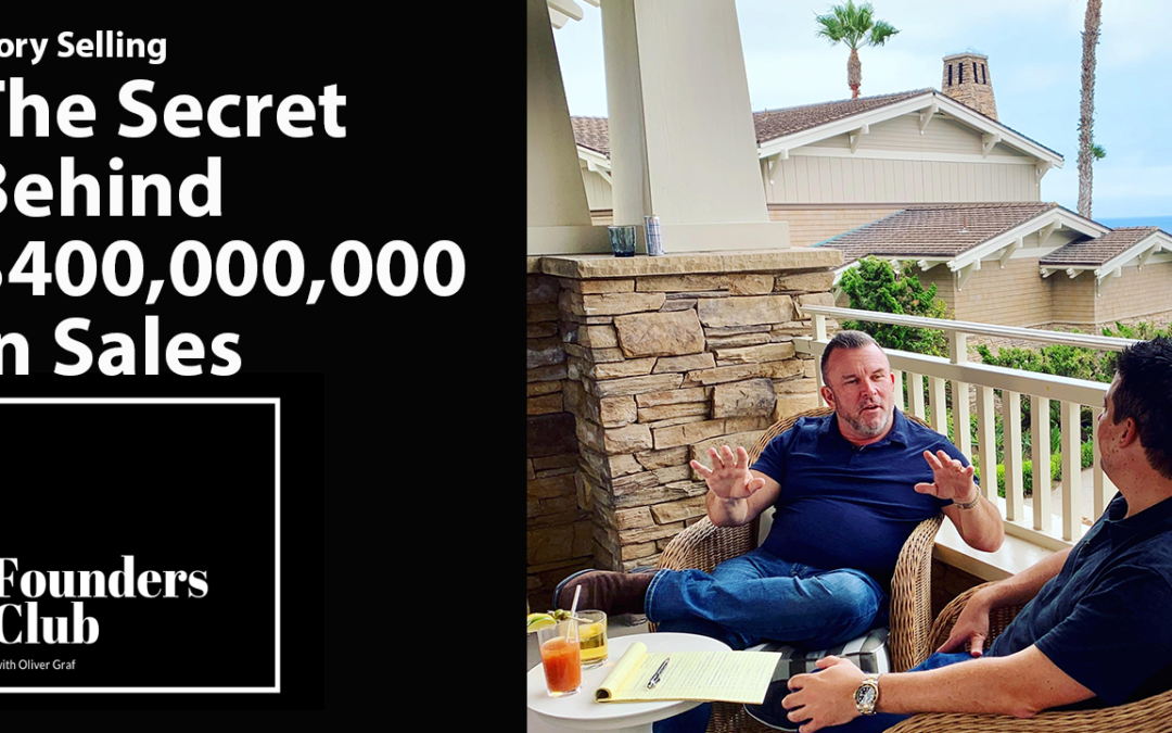 Perry Belcher Interview | Story Selling the Secret Behind $400,000,000 in Sales | Founders Club