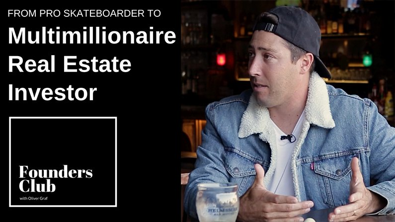 From Pro Skateboarder to Multimillionaire Real Estate Investor | Mikey Taylor Interview | Founders Club